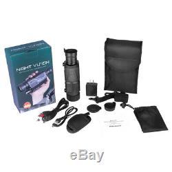 Handheld 5X40 Digital Night Vision Scope Hunting HD Infrared Monocular Telescope