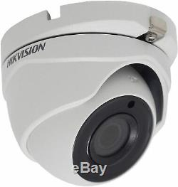 Hikivision 5mp Cctv Camera Ds-2ce56h0t-itmf 5mp 2.8mm Wide Angle Out Door Uk
