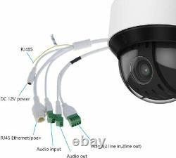 Hikvision DS-2DE4A425IW-DE 4MP 25x PTZ Camera Darkfighter IP PoE+ Smart-tracking