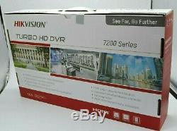 Hikvision Ds-7208huhi-k1 8ch Dvr 4k H. 265+264 Ahd/tvi 8mp-1080p (no Hdd) 2019