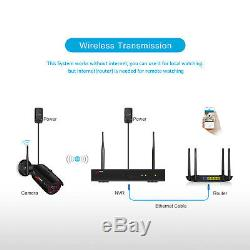 Home Security Camera System Outdoor 8CH Wireless Outdoor 1080P 1/2TB Hard Drive