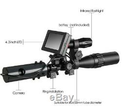 Infra Red Night Vision Scope Monitor Digital Torch View For Hunting Rifle Scope