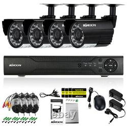KKMOON H. 265+ 4CH 1080P DVR 5In1 CCTV 720P Outdoor Security Camera System