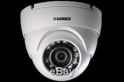 LOREX 3TB DIGITAL POE IP NVR Security Camera System Night Vision 8 HD Cameras 2K