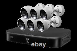 Lorex 4K Ultra HD 8 Channel 2TB DVR 6 4K Active Deterrence Security Cameras