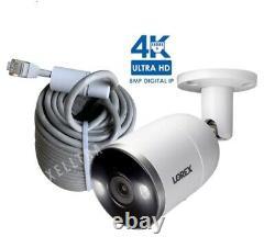 Lorex 4K Ultra HD Smart Deterrence IP Camera with Smart Motion Plus E892AB