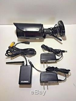 Lorex LW3211 Wireless Security Surveillance Camera with WIRELESS RECEIVER KIT
