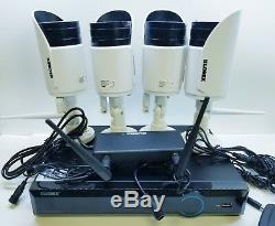 Lorex by FLIR 4 HD WIRELESS CAMERA AND WIRELESS DVR Security System