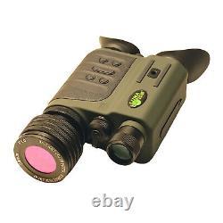 Luna Optics 6-30x50 Gen-2 Digital Day/Night Vision Binoculars with Dual HR Display