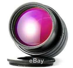 M42 Cyclop Helios 100mm F/2 night vision lens T3C-2 USSR 40-2 RARE BOKEH 12/100