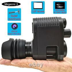 Megaorei3 Digital Night Vision Scope Monocular Hunting Camera 850 IR Flashlight