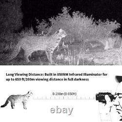 Mini Infrared Digital Night Vision Monoculars Telescope For Day & Night Hunting