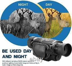 Monocular 5X40 Night Vision with 1.5 TFT LCD 16G Card Camera Video Recorder NVG