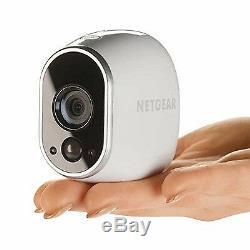 Netgear Arlo Camera System with 2 Arlo Wire-Free Indoor/Outdoor HD Cameras/Ou