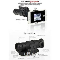 New Design Digital PVS-14 Tactical Night Vision Scope For Hunting Wargam Outdoor