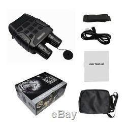 Night Vision Binoculars Digital Infrared Hunting Binocular Scope IR CAMERA New