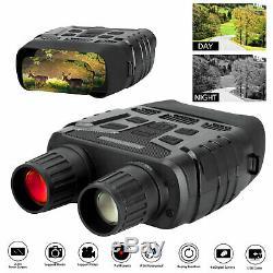 Night Vision Binoculars HD 4X Digital Zoom Infrared Hunting Telescope IR Camera