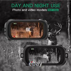 Night Vision Goggles Binoculars with LCD Screen, Infrared (IR) Digital Camera