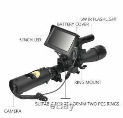 Night Vision Hawk 200 MM Digital Night Vision Scope System
