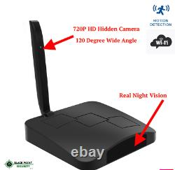 Night Vision Hidden Spy Wireless Nanny Full HD Motion Camera Audio Wifi Router