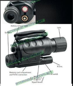 Night Vision Hunting Camera Goggles Binoculars Monocular Digital NV Security 16G
