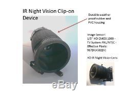 Night Vision Scope Clip-on Digital Crosshairs 1000R