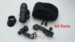 Night Vision Scope Gun Rifle LED Monocular Device Goggles Helmet Digital HD New
