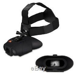 Nightfox Swift Night Vision Goggles Digital Infrared 70m Range