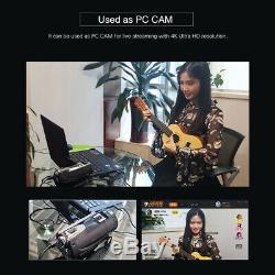 ORDRO AC3 4K WiFi Digital Video Camera Camcorder DV Recorder E1U3