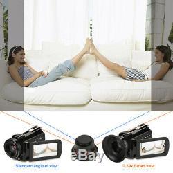 ORDRO AC3-IPS 4K Wifi Full HD Night Vision Digital Video DV Camera US 100-240V