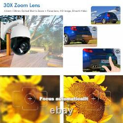 POE IP 30X Optical Zoom PTZ Wired HD 2.0MP 1080p Outdoor CCTV Security IP Camera