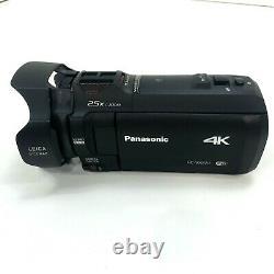 Panasonic HC-VX870 4K Ultra HD Camcorder 60x Digital Zoom 20x Optical Zoom