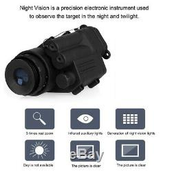 Professional Big View 2x30 Infrared Digital Night Vision Monocular Riflescope