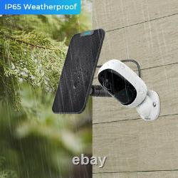 Reolink Wireless Security Camera Battery Powered Outdoor Argus2 with Solar Power