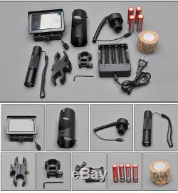 Riflescope Nightvision Digital Infrared Battery Monitor Flashlight Hunting Scope