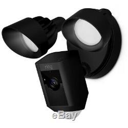 Ring Outdoor Floodlight Camera, Black