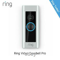 Ring Pro Video Doorbell 1080 HD Live Video, Works With Alexa, Night Vision