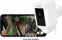 Ring Refurbished Indoor/Outdoor Wired 1080p Security Camera White