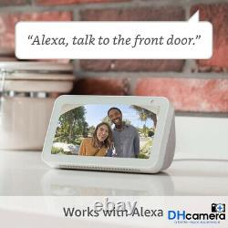 Ring Video Doorbell Pro Hardwired HD Video Night Vision Camera Works with Alexa