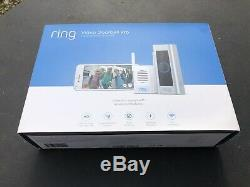 Ring Video Doorbell Pro New never used hardwired/night vision/motion detect