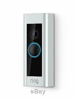 Ring Video Doorbell Pro WiFi 1080P HD Camera with Night Vision & Motion Alerts