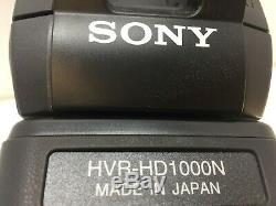 SONY HVR-HD1000N HDV Camcorder 20x Digital Zoom Super Steady Shot
