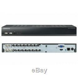 Samsung SDS-P5101 16 Channel 1TB DVR + 10 Cameras SDC-5340 Surveillance SDS-5100