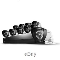 Samsung SDS-P5102 16 Chan DVR Security w 10 Cameras SDC-7340 1TB HDD SDR-5102N