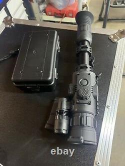 SightMark Photon RT 4.5-9x42S Digital Night Vision Riflescope, Black, SM18015