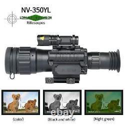 Sniper HD 4.5x50 Digital Night Vision Riflecope Night Vision Infrared IR Camera