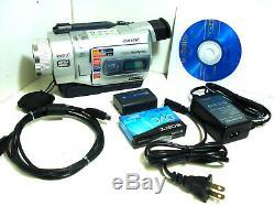 Sony Digital8 Camcorder DCR-TRV740 / Sony Handycam Player 8MM / Hi8 with warranty