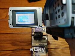 Sony Handycam DCR-TRV340 Digital8 Camcorder With Accessories and 4 new cassettes