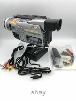 Sony PAL Handycam Camcorder Standard8/Hi8/Digital8 Video Transfer (DCR-TRV110E)