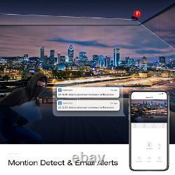 TOGUARD 1080P CCTV Security Camera 5MP PoE 8CH NVR Home Outdoor System 3000TVL